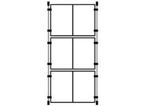 Picture of 3 x Double A4 Portrait Cable Pocket Display Kit