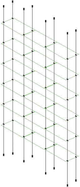Picture of 6 x Tripple Glass Effect 300 x 150 x 4mm Cable Shelf Window Display Kit