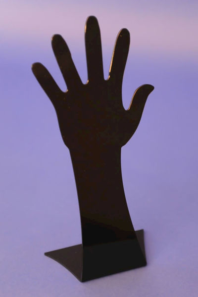Picture of Black Display Hand Large
