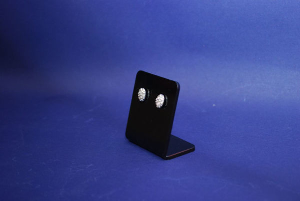 Picture of Black Earring Display Stand