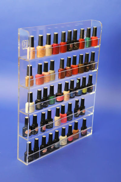Picture of Clear Wall Mounting Nail Polish Display
