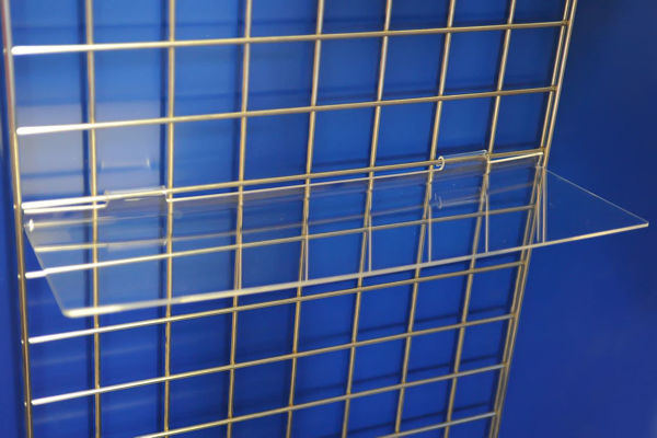 Picture of Gridwall Flat Shelf 595 x 200