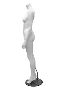 Picture of Jean Headless Mannequin Matt White 15550
