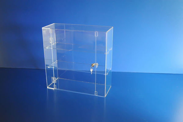 Picture of Lockable Display Cabinet 500 x 500 x 200