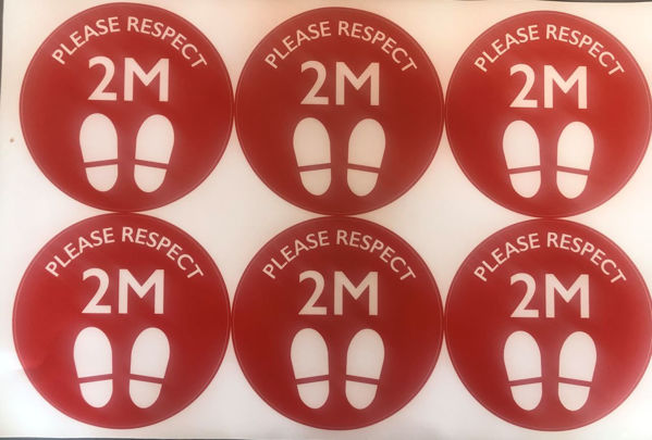 Picture of Please Respect 2m red PACK OF 6