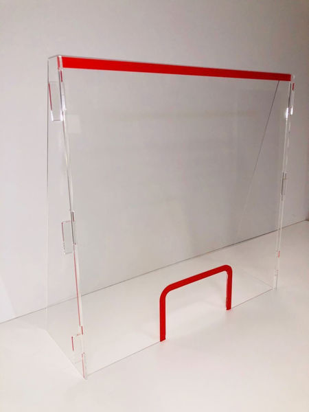 Picture of Reception Desk Screen 700mm wide x 1m high