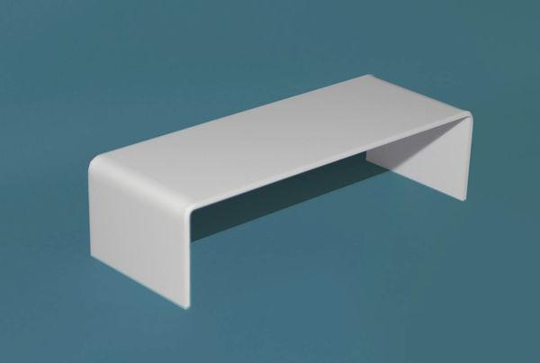 Picture of Single Bridge White 190 x 50mm