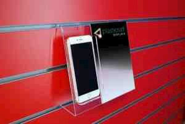 Picture of Slatwall Phone Holder with A5 Poster Holder