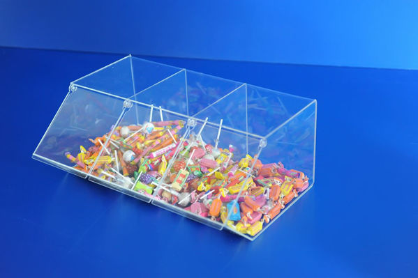 Picture of Tripple Pick and Mix Dispenser/Container