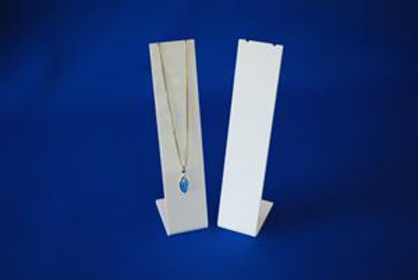 Picture of White Slim Line Necklace Display Stand