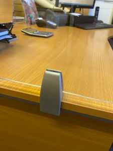 Picture of Office Desk Partition Screen 1395 x 500 x 5mm
