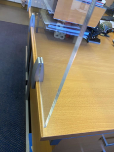 Picture of Office Desk Partition Screen 895 x 500 x 5mm